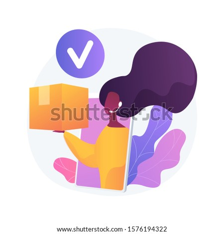 Taking orders by phone, store contact center, customers support. Easy order, fast delivery, trade service. Call center operator cartoon character. Vector isolated concept metaphor illustration.