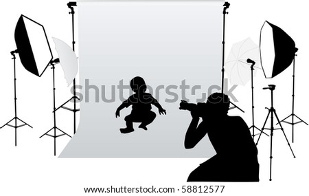 taking photos for small children