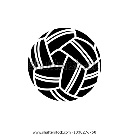 takraw ball icon line style vector
