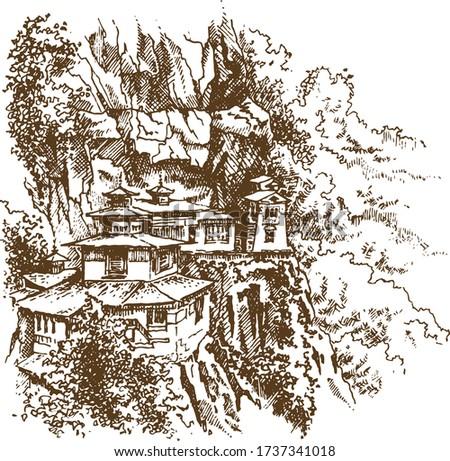 taktsang palphug monastery and