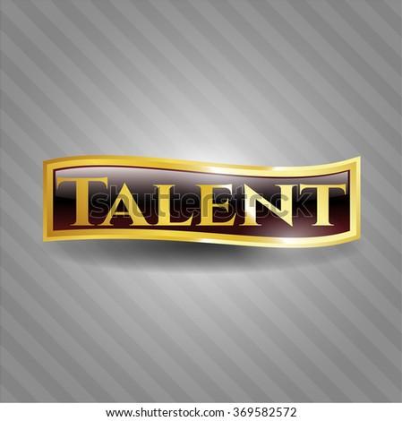 Talent gold badge