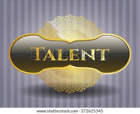 Talent golden badge