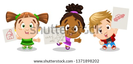 cartoon character with ponytail - Clip Art Library