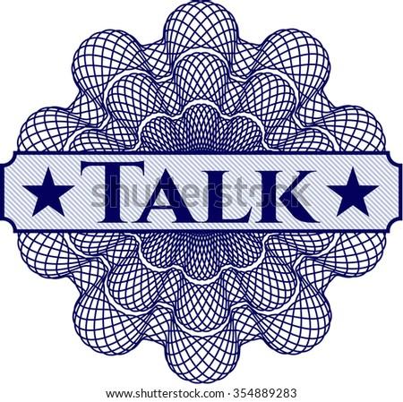 Talk linear rosette