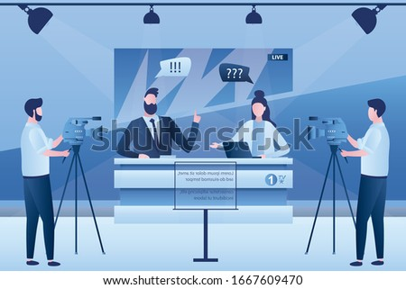 talk show on tv journalist and