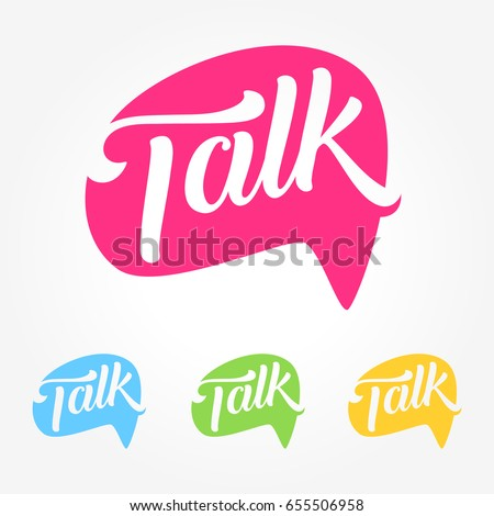 Talk Social Media Business Symbol