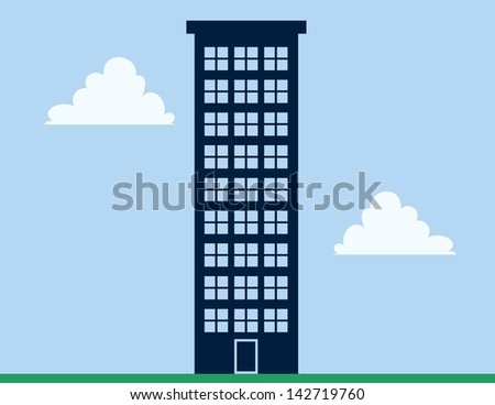 tall apartment building with