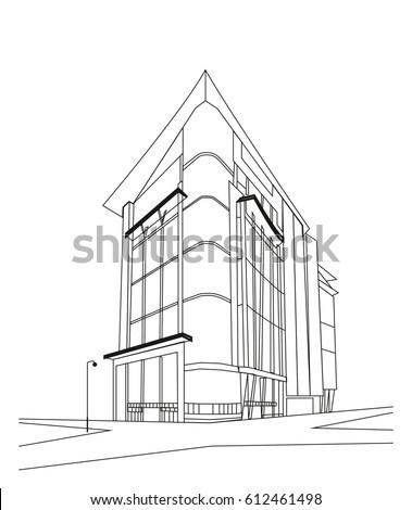 tall cinema building facade