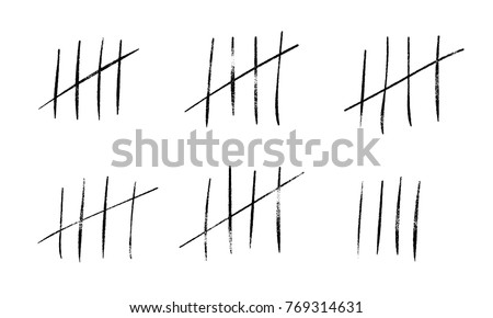 tally marks count or prison