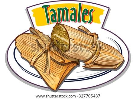 Shutterstock Tamales vector