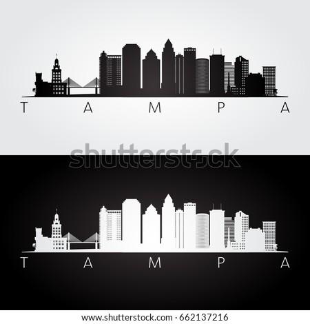 tampa usa skyline and landmarks