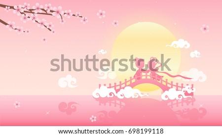 tanabata or qixi festival