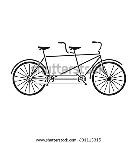 tandem bikepleasure bicycle