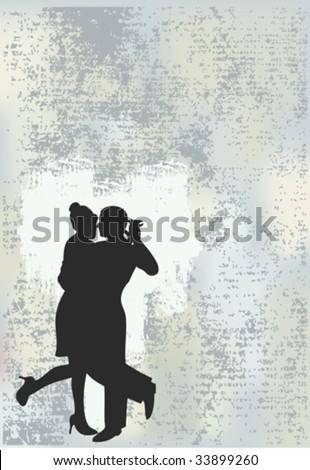 Tango Grunge Background