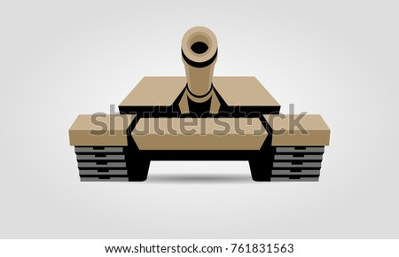 tank front view icon