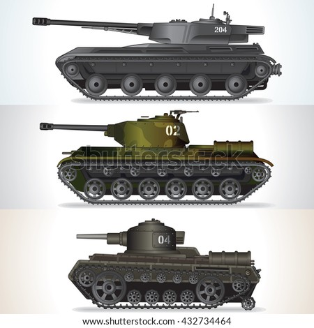 tank history abstract battle