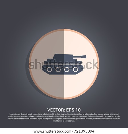 tank icon war sign
