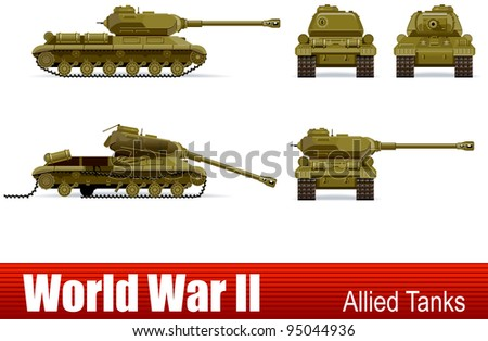 tank  in vector ww2 series