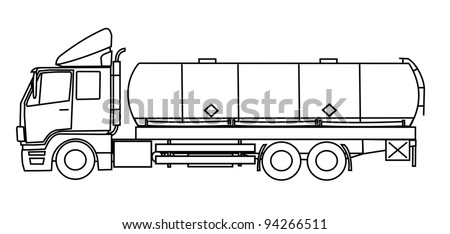tanker truck coloring pages - oil tanker coloring pages coloring pages