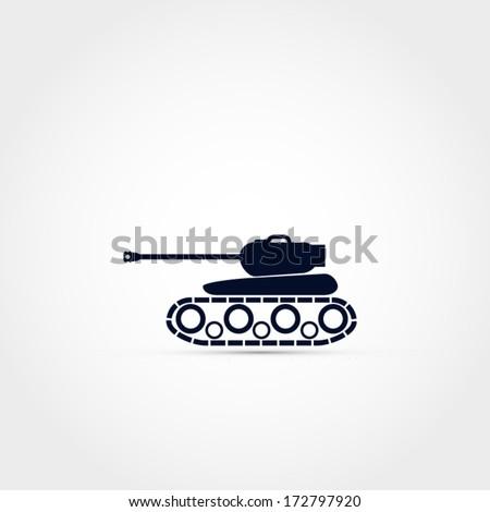 tank vector icon
