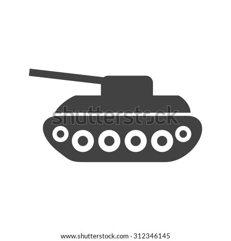 tank  war  army icon vector
