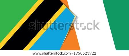 tanzania and ivory coast flags