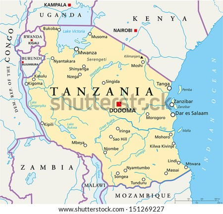 Image result for dodoma map