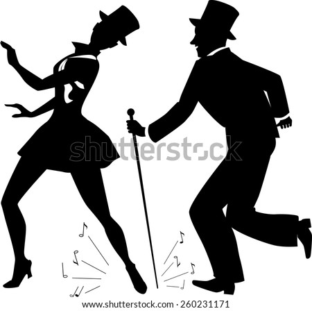tap dance performers in stage