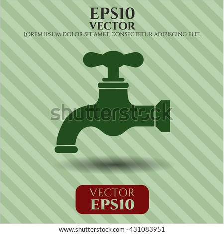 tap icon vector symbol flat eps jpg app web concept website