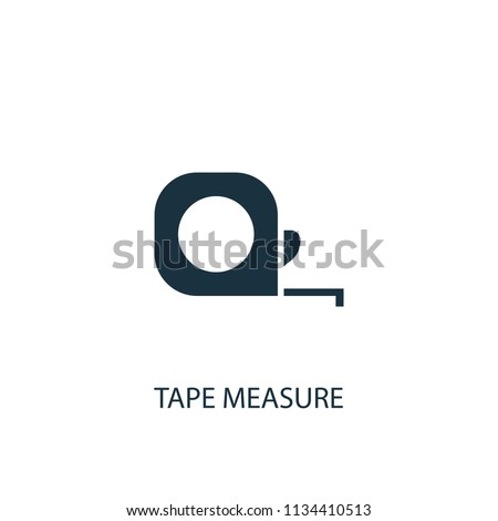 tape measure creative icon. Simple element illustration. tape measure concept symbol design from Hand tools collection. Can be used for web and mobile.