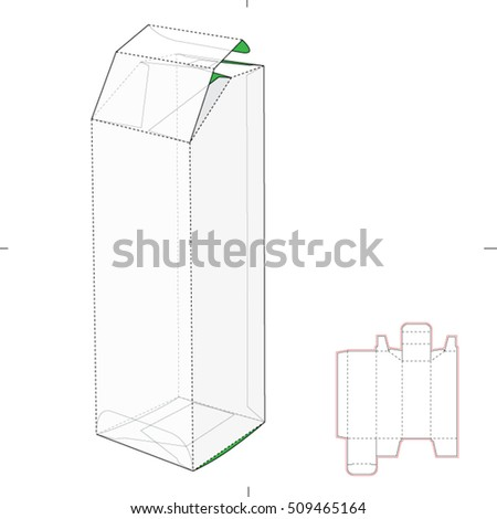 Stock Vector Die Box Of Tea as well P 1421 Polyester Gel Coat Ral 9010 Pure White additionally Search likewise Troquelado also 184669709 Shutterstock Tall Box With Auto Lock Bottom And. on tube box