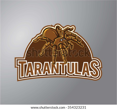 tarantula illustration design