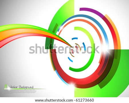 Target background. Vector illustration.