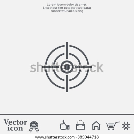 Shutterstock target icon