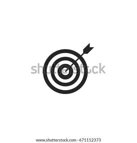 target icon. sign design