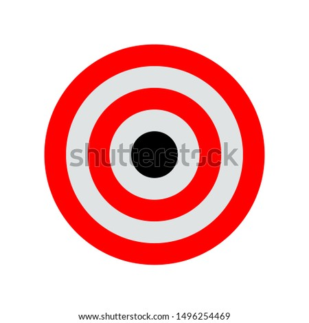 Target Icon Vector. Target icon vector illustration design template