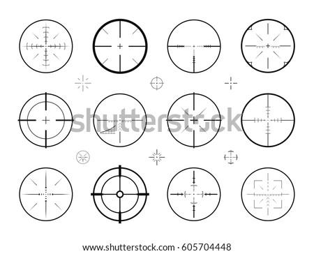 target  sight sniper set of