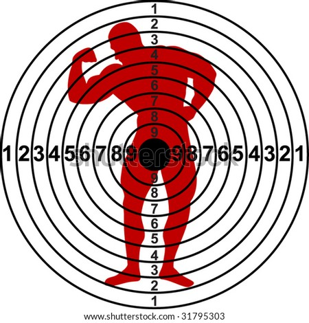 Free Vector Stocks on Targets For Shooting Range Stock Vector 31795303   Shutterstock