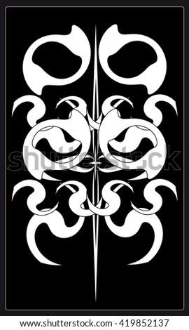 tarot cards   back design