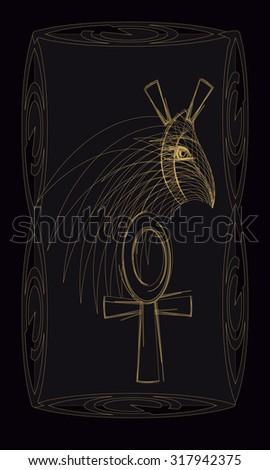 tarot cards   back design  set