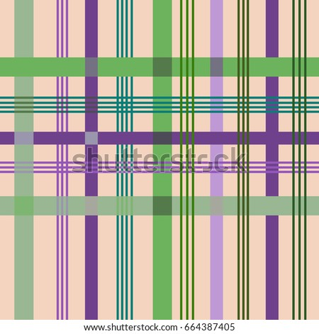 tartan color seamless pattern