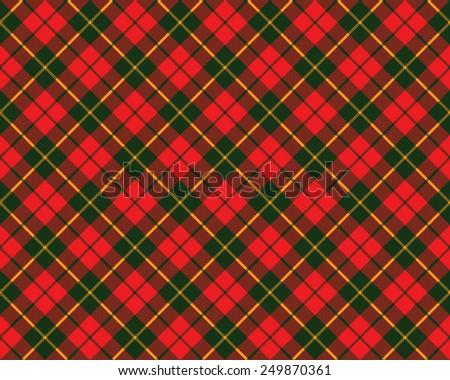 tartan fabric texture diagonal