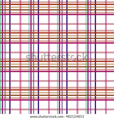 tartan light seamless pattern