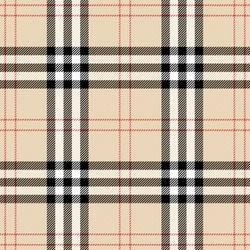 Tartan plaid. Scottish pattern in black, beige and white cage. Scottish cage. Traditional Scottish checkered background. Template for design ornament. Seamless fabric texture. Vector illustration