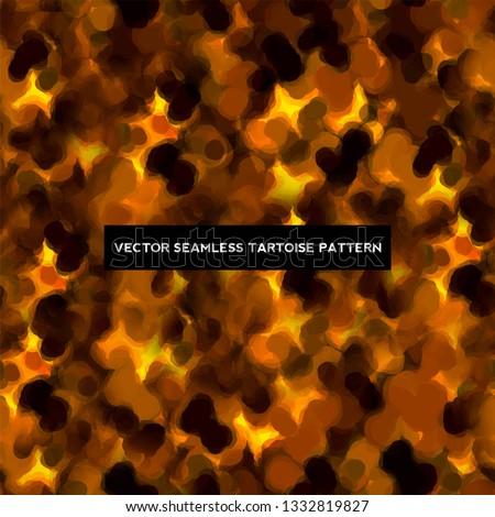 Tartoise VECTOR, SEAMLESS background/ texture/ pattern Stock photo ©