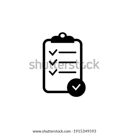 Tasks. Clipboard icon. Task done. Signed approved document icon. Project completed. Check Mark sign. Worksheet sign. Survey. Extra options. Application form. Fill in the form. Report. Office documents