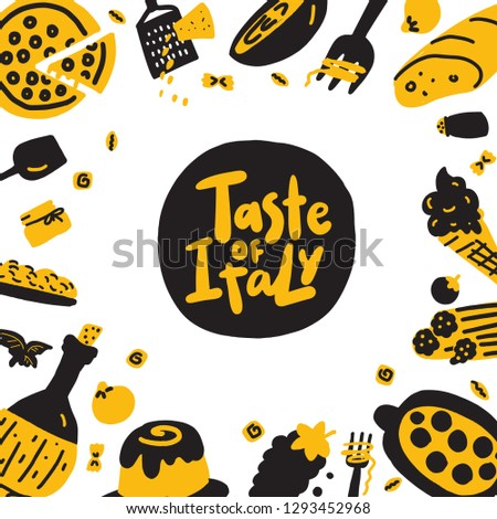 taste of italy funny hand