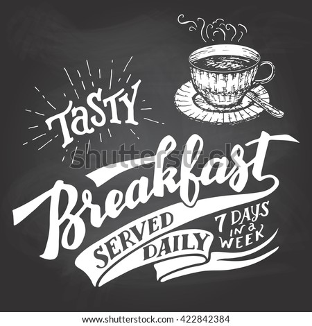 tasty breakfast served daily