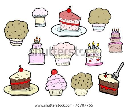 tasty cakes cartoon