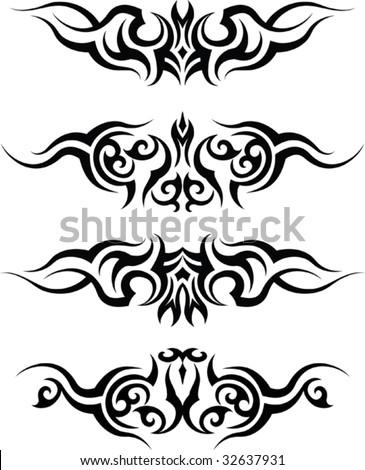 Tribal Tattoo Mawar